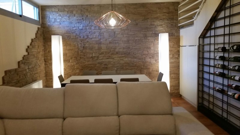 Piedra decorativa para interiores panel decorativo de - Piedras para interiores ...